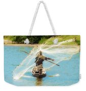 Teach A Man To Fish Weekender Tote Bag