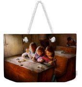 Teacher - Classroom - Education Can Be Fun  Weekender Tote Bag by Mike Savad