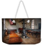 Teacher - First Day Of School Weekender Tote Bag by Mike Savad