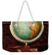Teacher - Globe On Piano Weekender Tote Bag