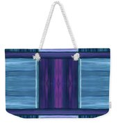 Teal Square Dreams Weekender Tote Bag
