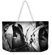 Team Work - Mules 2225-012-bw Weekender Tote Bag