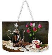 Tea'n Tulips Weekender Tote Bag