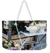 Teapots And Flowers Weekender Tote Bag