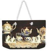 Teapots On Grundge Weekender Tote Bag