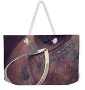 Teardrop At The End Of The Road Weekender Tote Bag by Edward Fielding