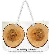 Tearing Christ - Discovery Weekender Tote Bag