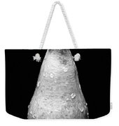 Tears Of A Sad Pear In Silver Weekender Tote Bag