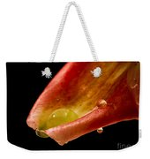 Tears On A Lilly Weekender Tote Bag