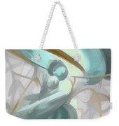 Teary Dreams Pastel Abstract Weekender Tote Bag