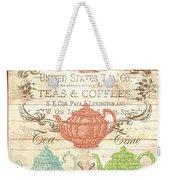 Teas And Coffees Sign Weekender Tote Bag