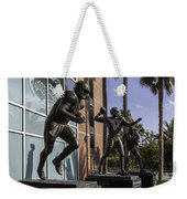 Tebow Spurrier And Wuerffel Uf Heisman Winners Weekender Tote Bag