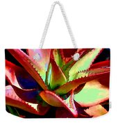 Technicolored Agave Succulent Weekender Tote Bag