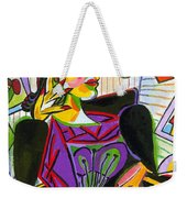 Technology And Picasso Weekender Tote Bag
