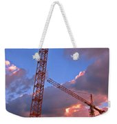 Technology Contrasts With Nature Weekender Tote Bag