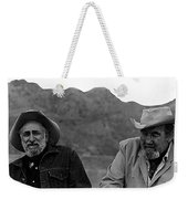 Ted Degrazia And Broderick Crawford Gallery In The Sun Tucson Arizona 3-1969-2009   Weekender Tote Bag