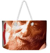 Ted Degrazia Portrait By Henry Redl Circa 1980-2013 Weekender Tote Bag