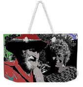 Ted  Degrazia  Singer Sammi Smith  Dick Frontain Photo Gallery In The Sun Tucson Arizona C.1977-2013 Weekender Tote Bag