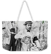 Ted Degrazia With  Uncle  Gregorio Circa 1920's-2013 Weekender Tote Bag