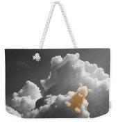 Teddy Bear Cloud Weekender Tote Bag