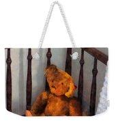 Teddy Bear In Crib Weekender Tote Bag