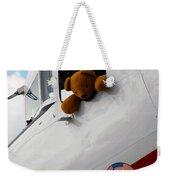 Teddy Bear Pilot Weekender Tote Bag