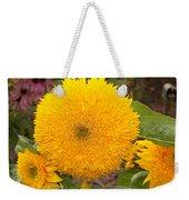 Teddy Bear Sunflower 2 Weekender Tote Bag