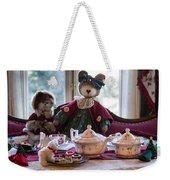 Teddy Bear Tea Party Weekender Tote Bag