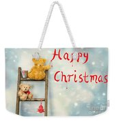 Teddy Bears At Christmas Weekender Tote Bag