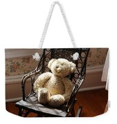 Teddy In Old Fashioned Rocker Weekender Tote Bag