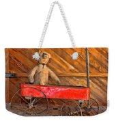 Teddy Takes A Ride Weekender Tote Bag