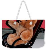 Teddy's Chair - Toy - Children Weekender Tote Bag by Barbara Griffin