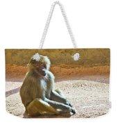 Teen Baboon Weekender Tote Bag