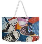 Teens In Converse Tennies Weekender Tote Bag