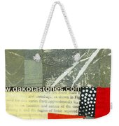 Teeny Tiny Art 119 Weekender Tote Bag