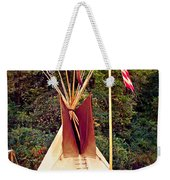 Teepee Weekender Tote Bag by Marty Koch