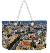 Tel Aviv Eagle Eye View Weekender Tote Bag