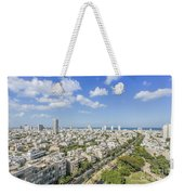 Tel Aviv Israel Elevated View Weekender Tote Bag