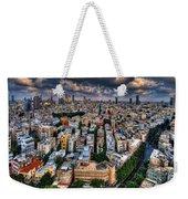 Tel Aviv Lookout Weekender Tote Bag