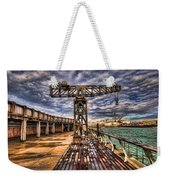 Tel Aviv Port At Winter Time Weekender Tote Bag