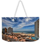 Tel Aviv Summer Time Weekender Tote Bag by Ron Shoshani
