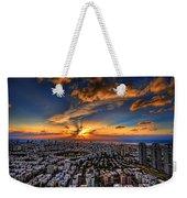 Tel Aviv Sunset Time Weekender Tote Bag