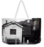 Telegraphing Home Weekender Tote Bag