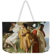 Telemachus And Eucharis Weekender Tote Bag