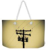 Telephone Pole 1 Weekender Tote Bag