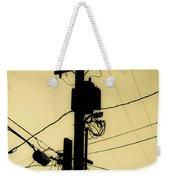 Telephone Pole 2 Weekender Tote Bag
