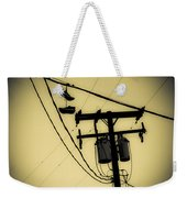 Telephone Pole And Sneakers 1 Weekender Tote Bag