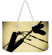 Telephone Pole And Sneakers 6 Weekender Tote Bag