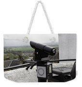 Telescope Near The Entrance Of Stirling Castle Weekender Tote Bag