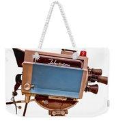 Television Studio Camera Hdr Weekender Tote Bag